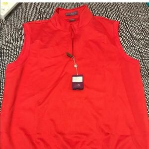 Men's golf vest new with tags